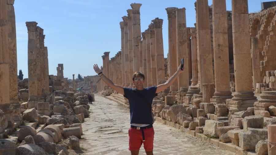 Tour in Jerash