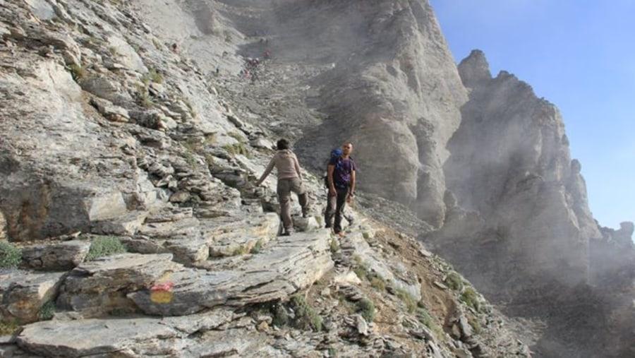 Thru Mythikas peak (Olympus)