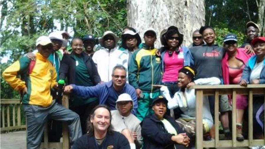 South African Parliamentarians with  Walk on the Wild Side and Howard Butcher