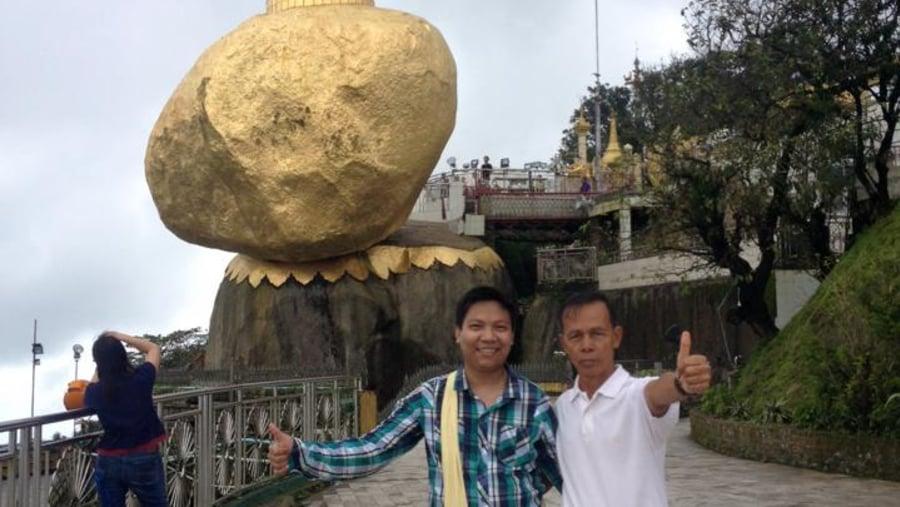 At Golden Rock