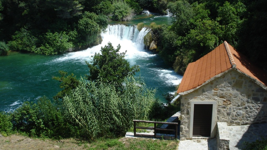 At Krka National Park