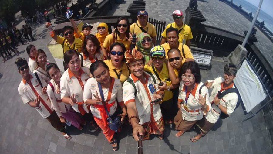 Tour guide and leader team
