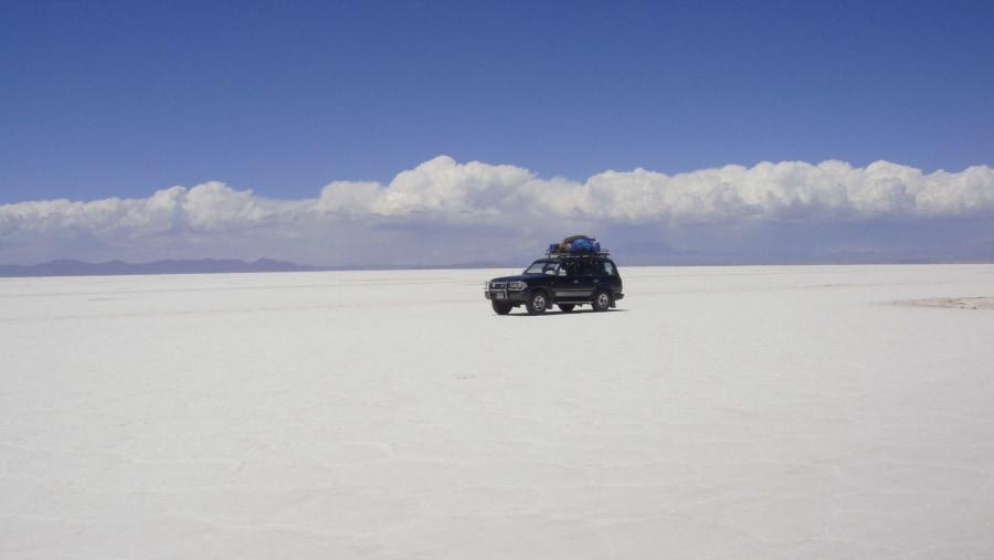 Salt Flats in a 4x4