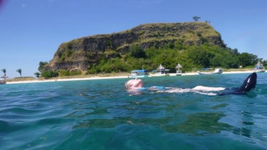 Snorkeling at Rutong
