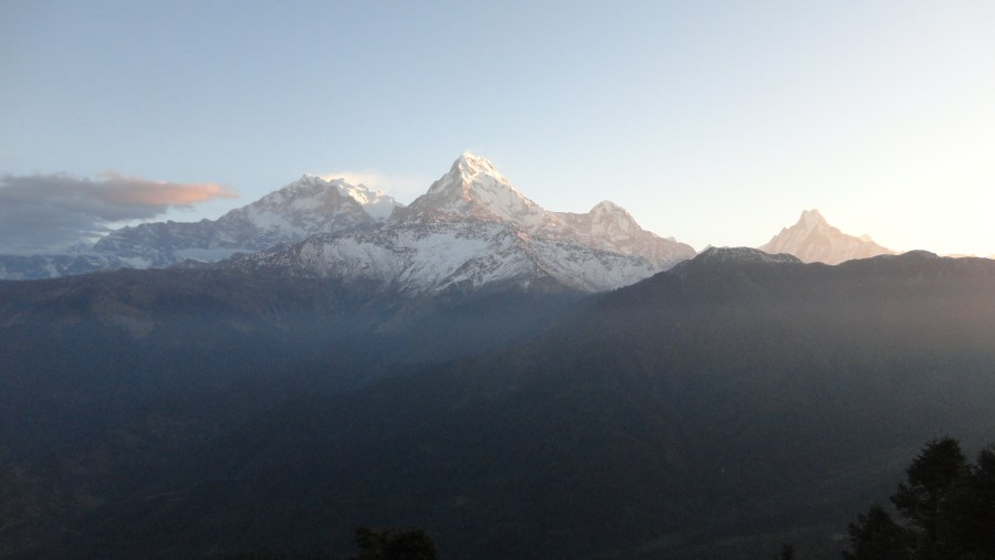 Annapurna Range View from Poon Hill