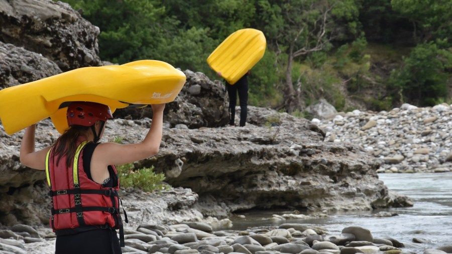 During the downriver you will be leaded and supervised by the professional guides