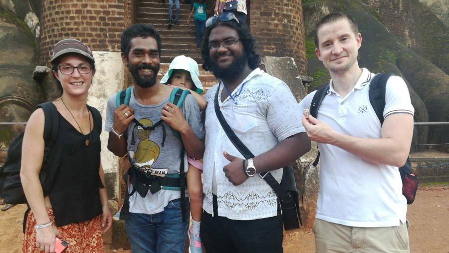 At Sigiriya