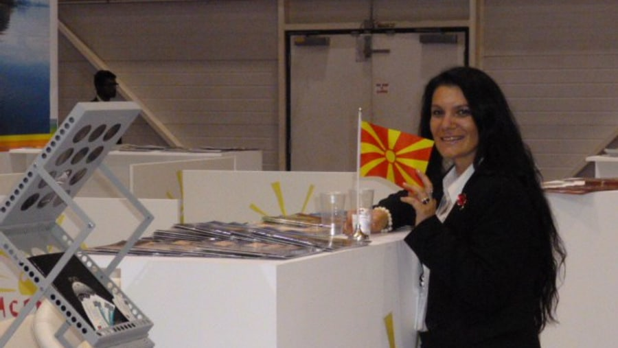 At Macedonian stand WTM in London