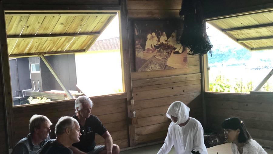Ama hut experience