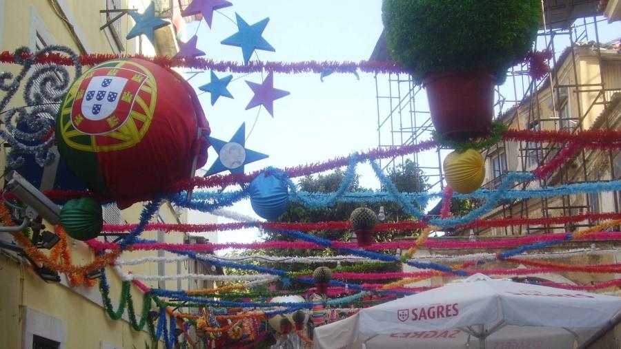Saint Antony's feast decorations (13june)