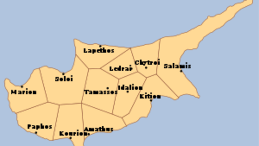 12 ancient city kingdoms CYPRUS
