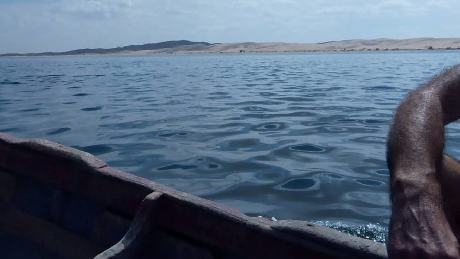 Moroccan Sahara , in the fishing trip