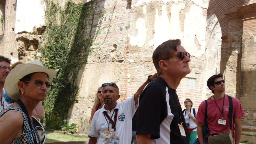 Visiting La Antigua, Guatemala Cathedral Ruis and Cripts