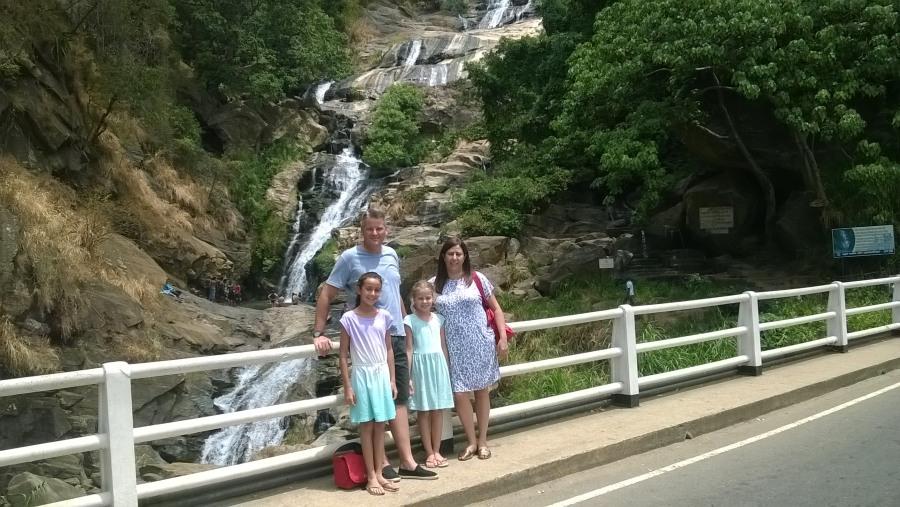 mrs. Kathrina & family