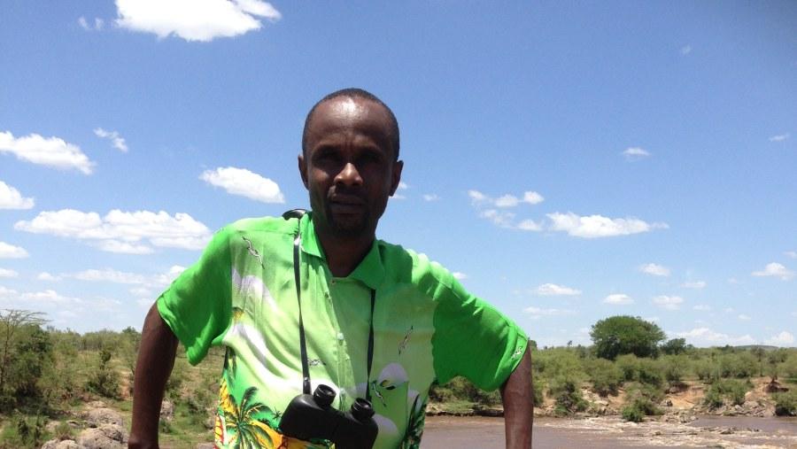At masai mara river