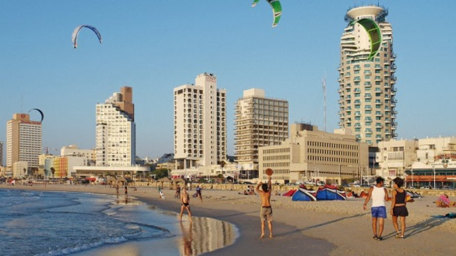 View from Jaffa to TLV