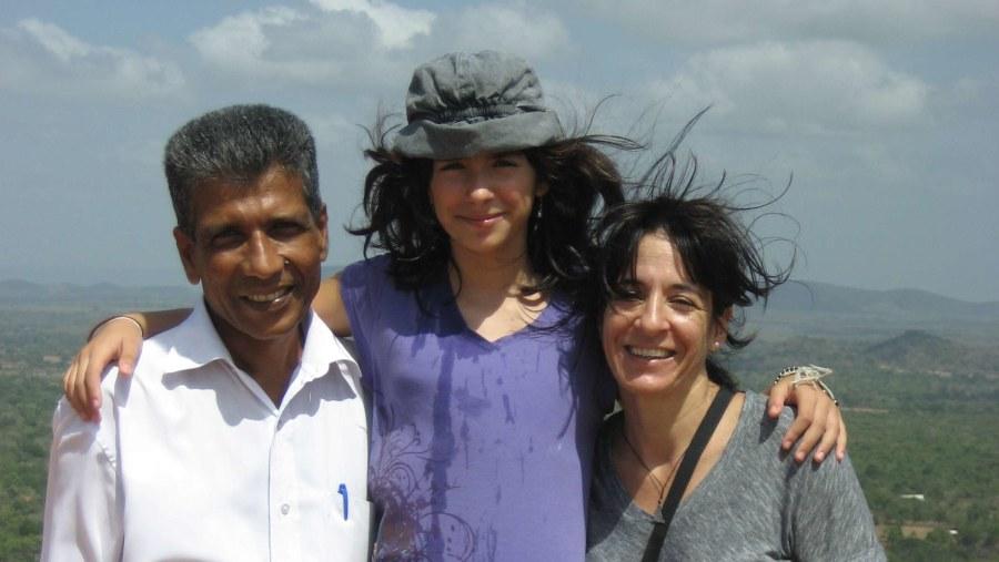 Top of the Sigiriya Rock