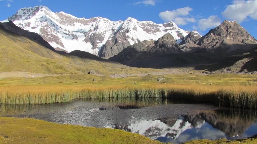 Upis Lake and Ausangate Mountain