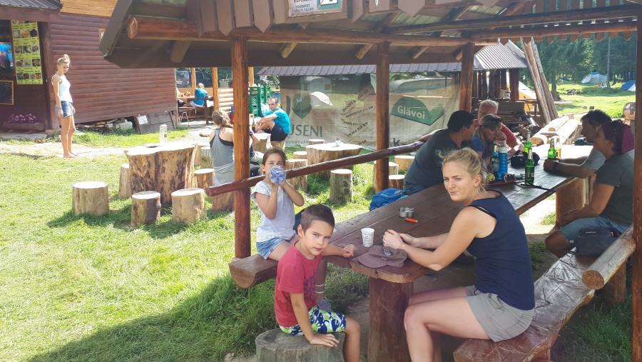 Refreshment in Padis - Western Carpathians