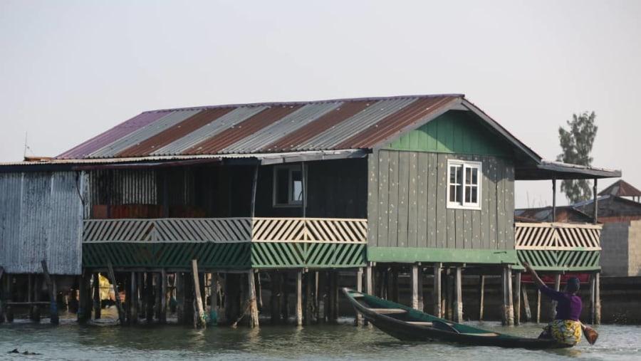 The stilt village on water, unique in West Africa.!!!