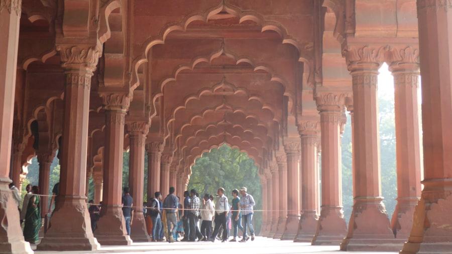 A wonderful day in New Delhi