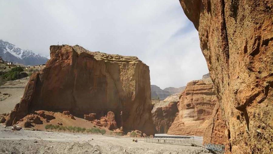 Upper Mustang cave
