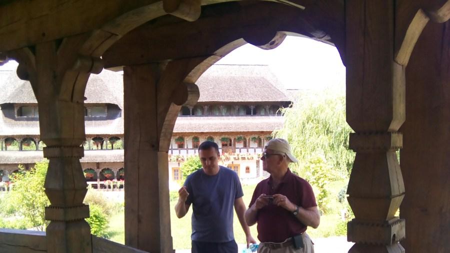 Visiting the Barsana Monastery
