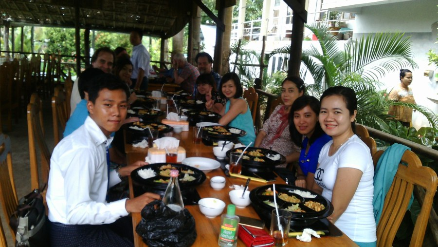 Yangon Restaurant, Mt. Popa