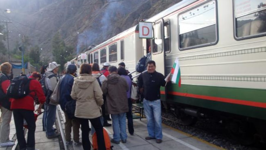 Train to Machupicchu