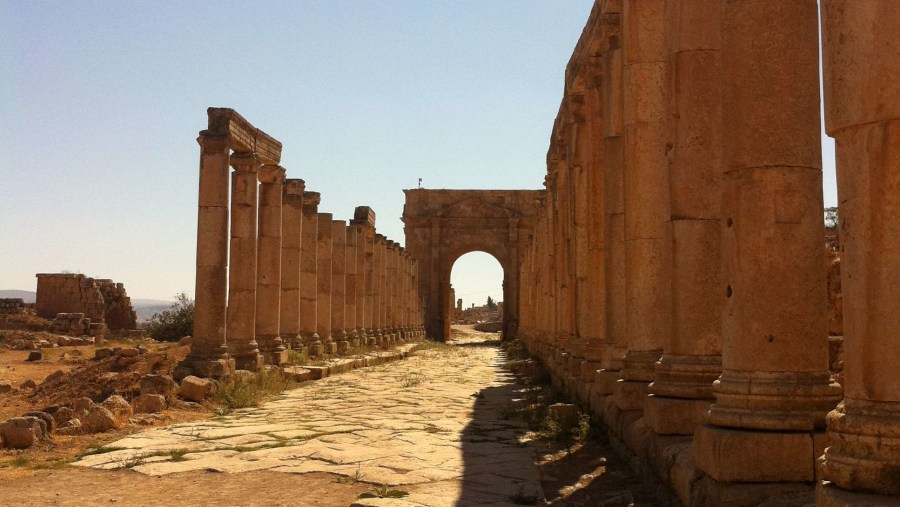 Jerash. From the North Gate