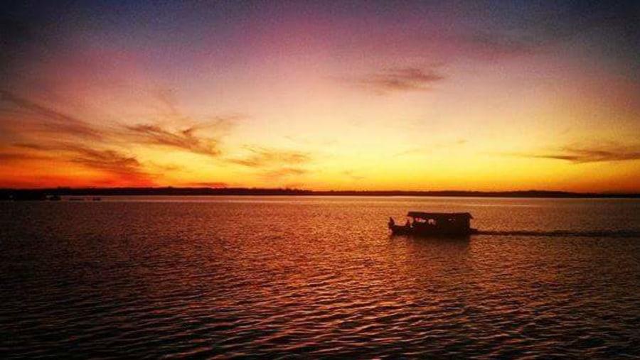 Rio Negro sun set