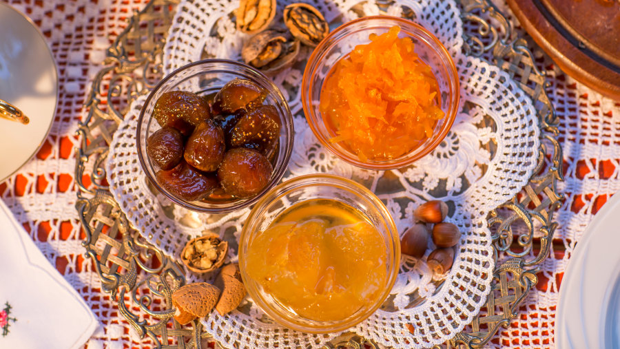 Albania Food, Gliko, Traditional Jam of Albania, Albania Food