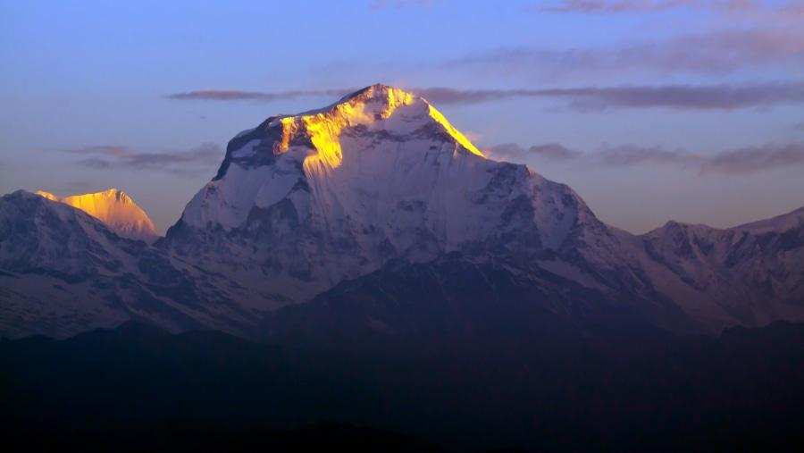 Dhulagirii mountain