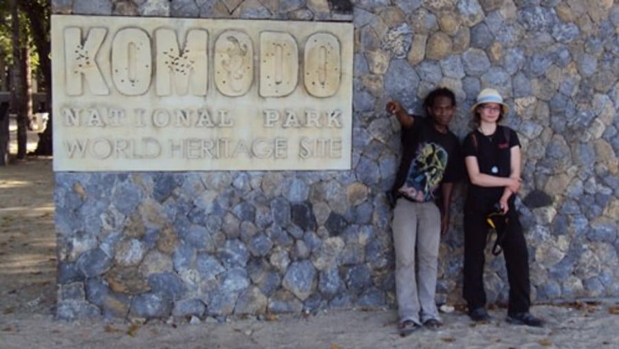 Komodo National Park with Francesca