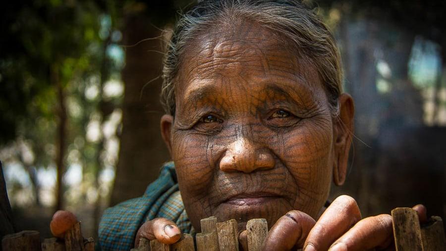 Chin Tattooed lady