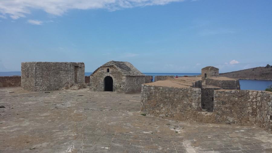 Inside ali pash tepelena castel-himare