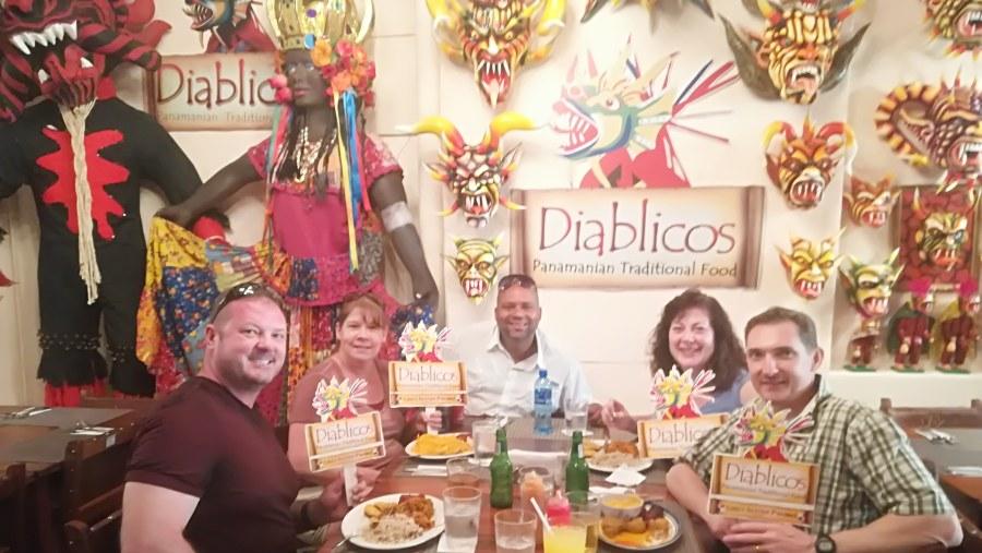 Old City, Diablicos Panamanian restaurant