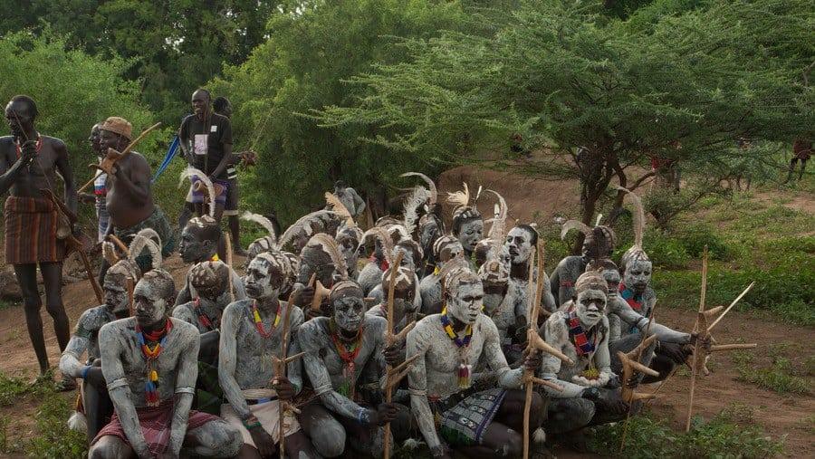 Karo tribes of Omo Valley