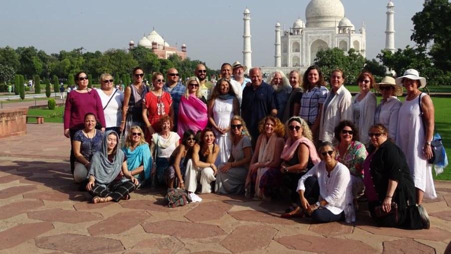 David Greenspan Group from USA - Yoga Guru