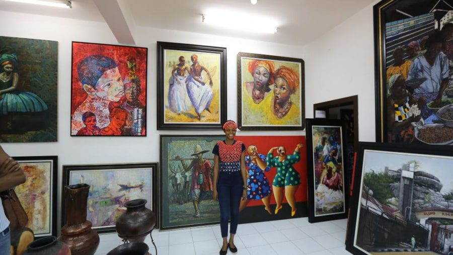 Beautiful art and cultural works