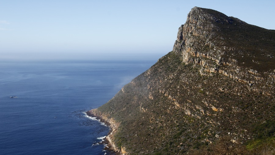 Mountains on the Cape Peninsula Route