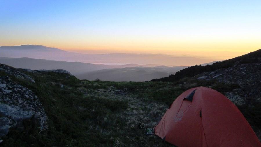 Sunrise in Rila Mountain