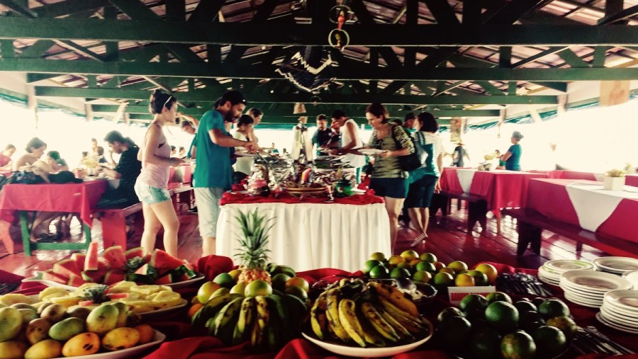 Lunch Buffet at Januari Park Resort