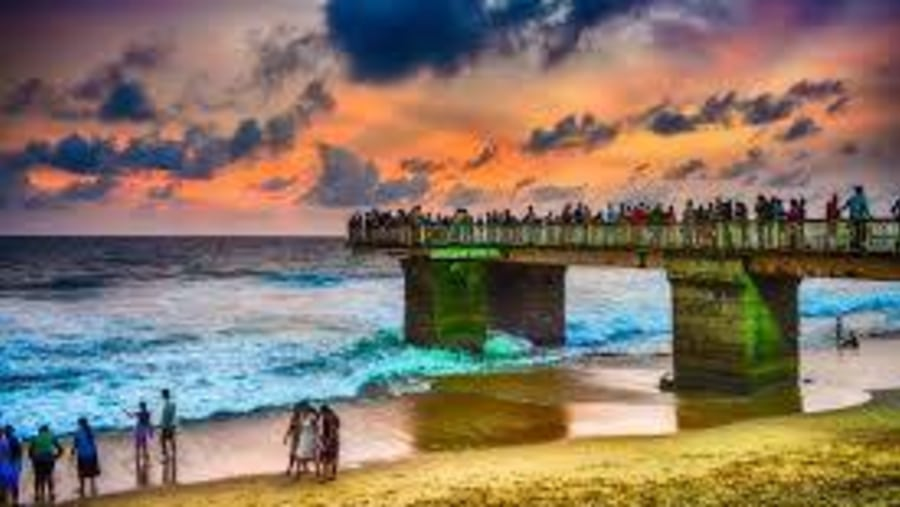 Bridge Galle face
