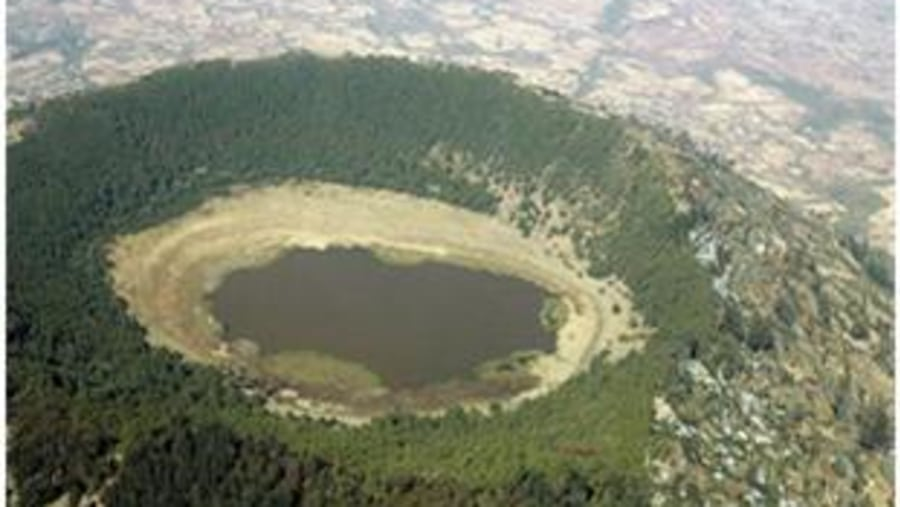 mount ziquala crater lake