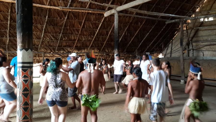 Celebrating with Indigenous