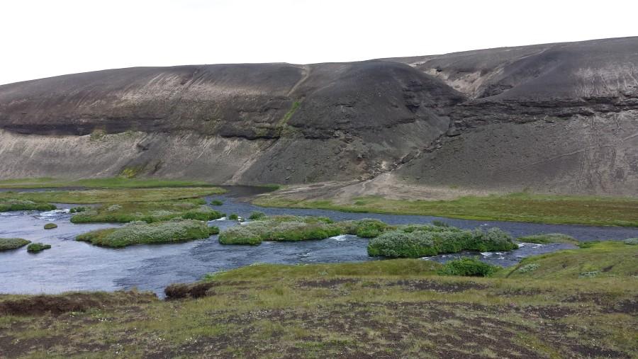 Close to Landmannalaugar