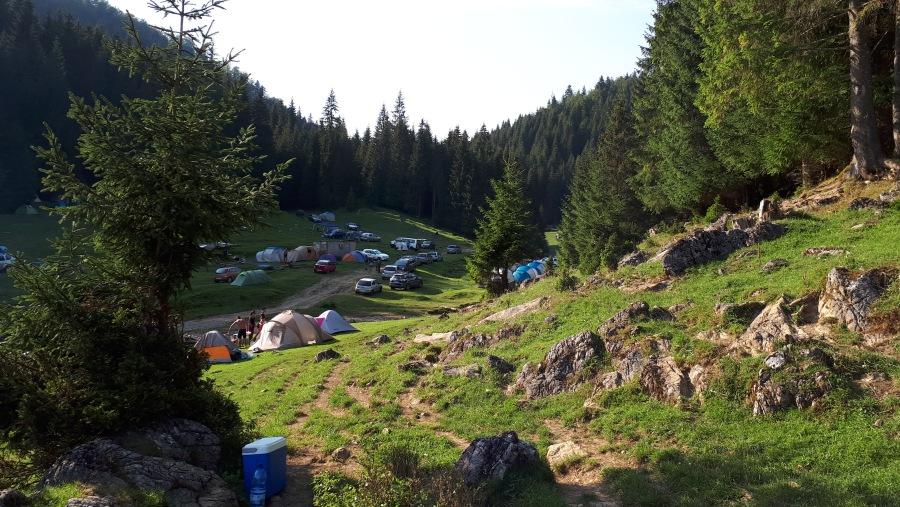 Campsite in Padis