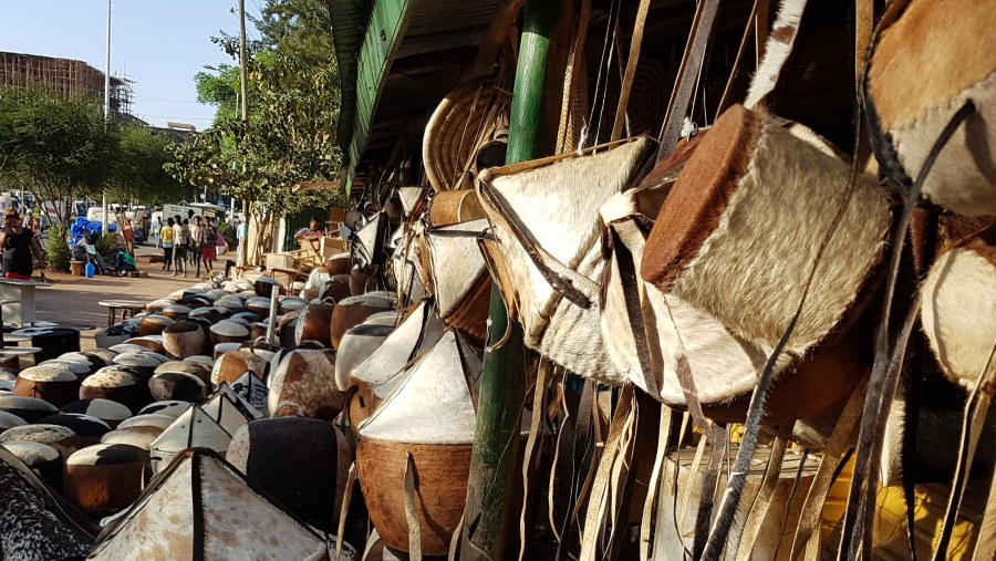 Local leather products market in Bahir Dar