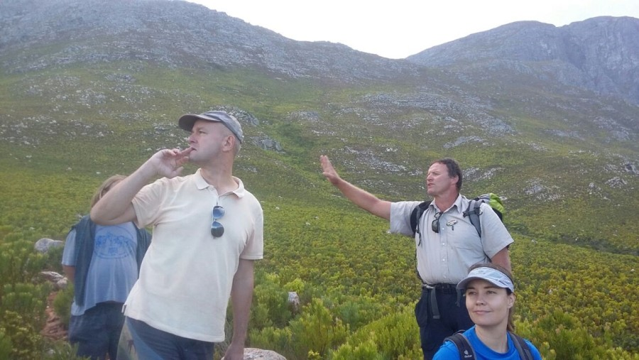 Don't miss any chance to hike with Andreas!